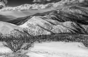 Mt Feathertop from Mt Hoptham