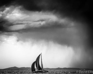 Yacht and Storm