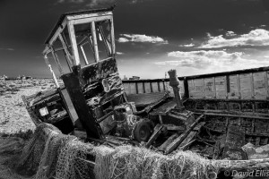 Old Boat, Dungeness, UK