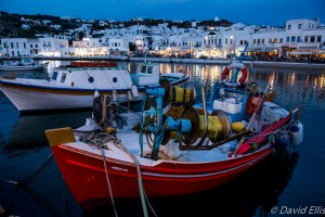 Fishing Boats, Mykonos