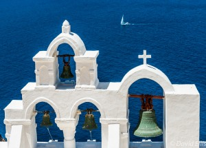 Church Bells, Oia, Santorini