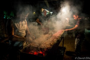 Barbeque, Fishermen's Festival, Agia Galini, Crete