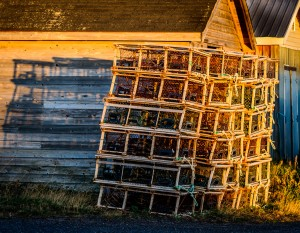 Stacked for Winter, Naufrage, Prince Edward Island