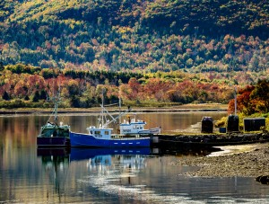 Fishing Boat, Meat Cove