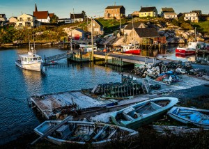 Days End, Peggys Cove, Nova Scotia